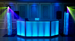 Wedding DJ Toronto - LED Booth