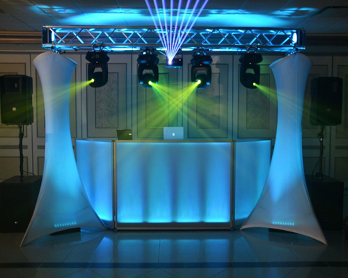 dj dance lighting packages