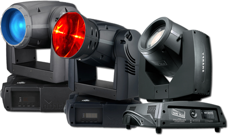 intelligent lighting moving heads