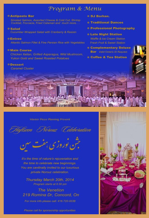 Norooz event in toronto Persian