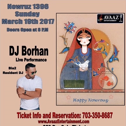 DJ Borhan in Washington