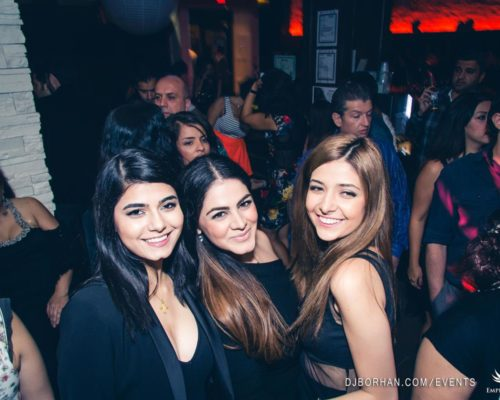 Persian club event in Toronto