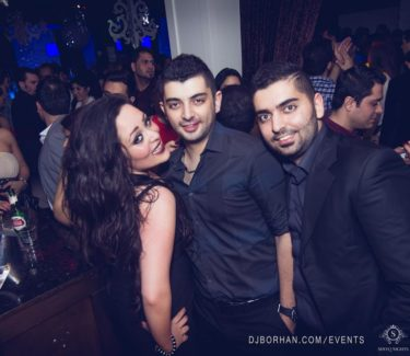 persian club NYE event toronto