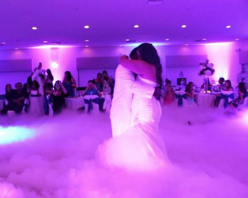 dry ice for weddings