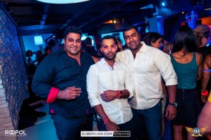 Persian party with Glow in the Dark theme in Toronto with DJ Borhan at Dirty Martini Markham