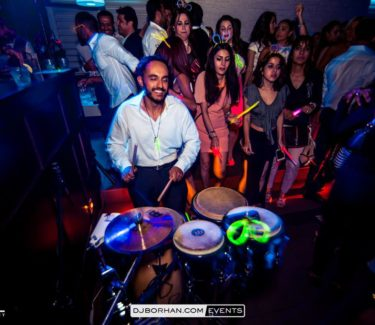 Iranian Glow party in Toronto