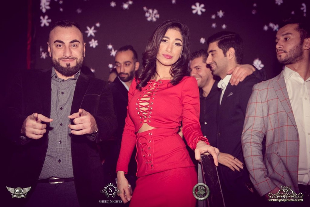 Persian Christmas party in Toronto