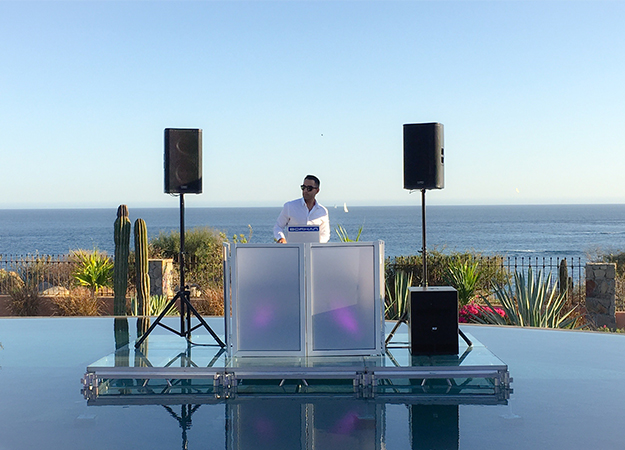 destination wedding dj