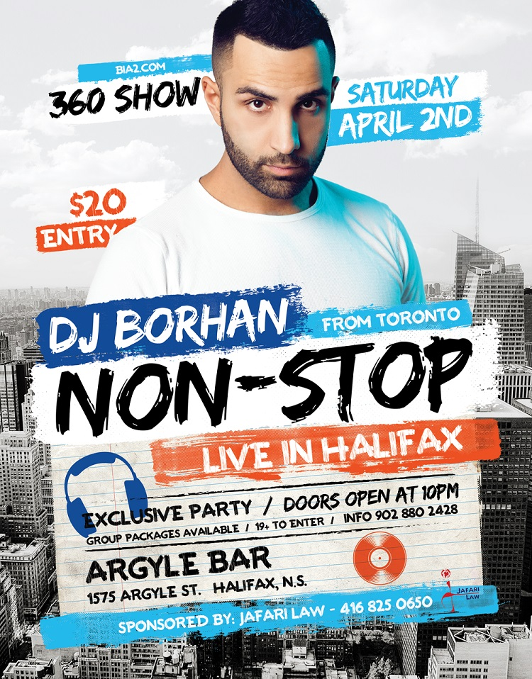 dj borhan in halifax