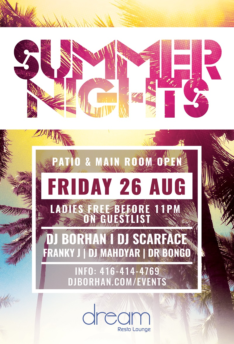 Toronto DJ Services | DJ Borhan | Portfolio Tags toronto events