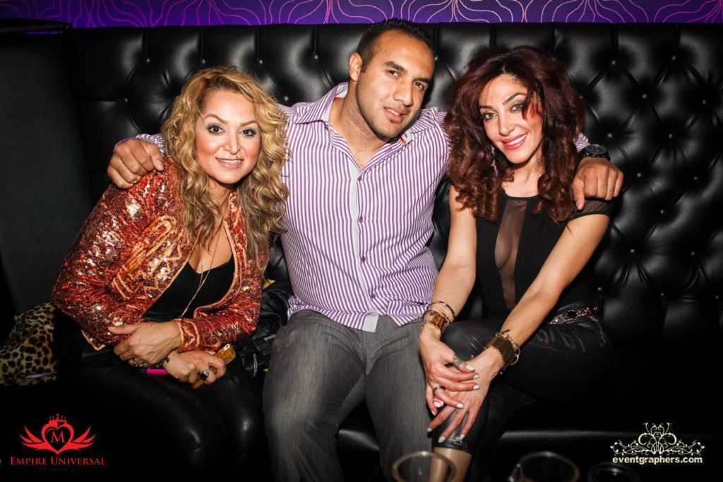 Persian party at Avenue Nightclub