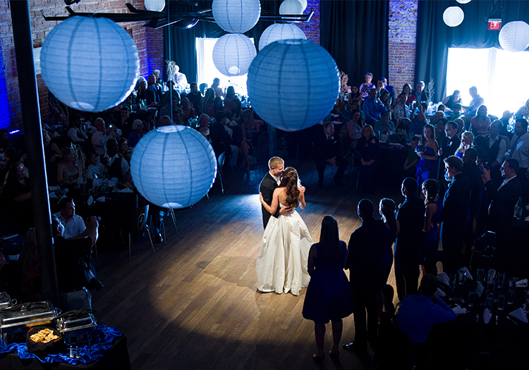 Wedding lighting spotlight
