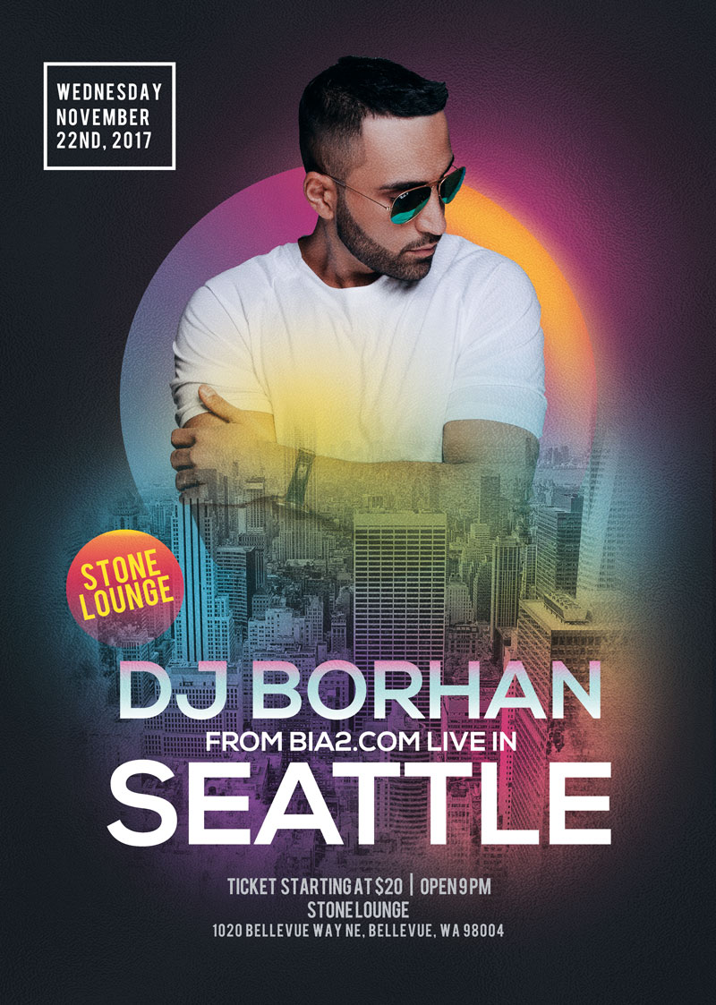DJ Borhan in Seattle