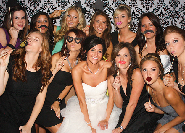photo booth for wedding in toronto